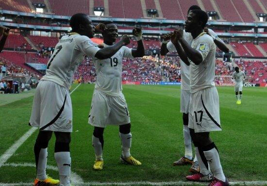 Gana 3 gol ile Dünya 3.sü!