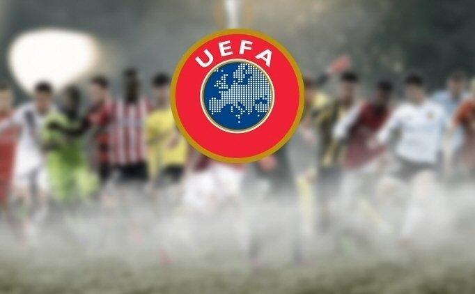 UEFA'DAN 'ŞAMPİYON' MESAJI