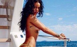 Rihanna hayranlarını Instagram'da büyüledi