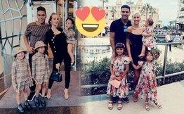 Falcao'nu eşi 'Lorelei Yenge' sahada İstanbul'dan paylaşıyor, reklamlar...