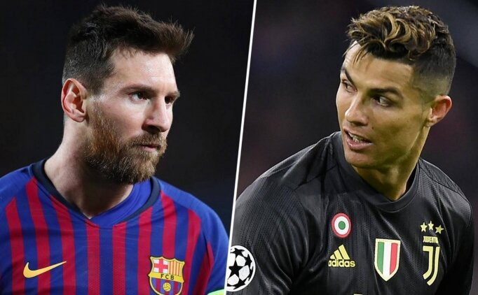 YENİDEN; MESSI vs RONALDO!