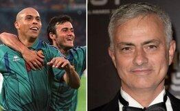 Jose Mourinho: 'Hiç kimse Ronaldo Nazario'yu geçemez'