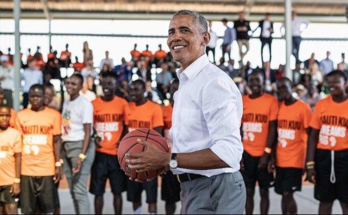 OBAMA, NBA AFRİKA ORTAĞI!
