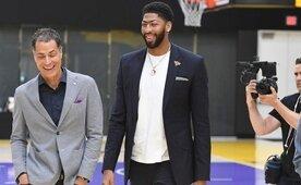 Davis: 'Los Angeles Lakers'ta bir senem var'