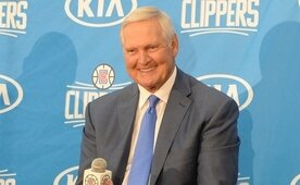 Jerry West, bir sezon daha LA Clippers'ta...