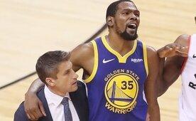 Kerr: 'Durant, 2019-20 sezonunu kaçıracak'