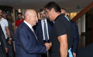 (TFF) Başkanı Nihat Özdemir, Trabzonspor'u ziyaret etti!