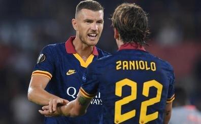 Zaniolo, Dzeko'yu böyle övdü: 'Ben düşünürken pası atıyor'