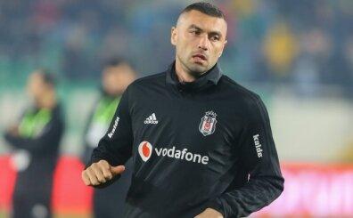 Burak Yılmaz'a Beşiktaş'taki ilk maçında şok taraftar tepkisi