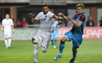 Trabzon'da yeniler sahne aldı! İlk kez Süper Lig'de sahadalar...