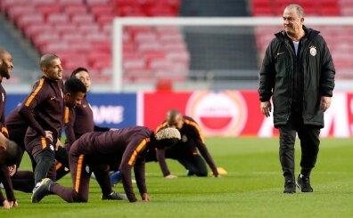 Galatasaray, Benfica maçını hazır! İşte Portekiz'de o anlar...