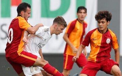 Galatasaray U19, Real Madrid'e kaybetti! Son dakikada yıkım!