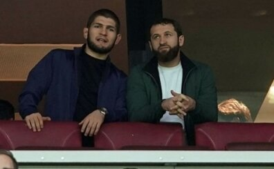 Galatasaray maçında sürpriz konuk! Tribünleri selamladı!