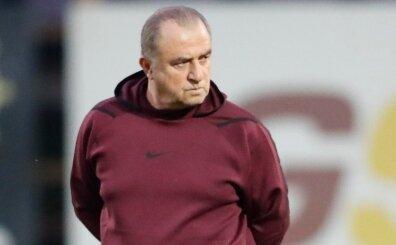 Galatasaray'da kadro dışı kararı sonrası Fatih Terim ve ilk idman