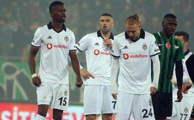 Beşiktaş'ta yıldız isim Akhisar'da son anlarda cezalı duruma düştü