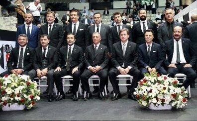Beşiktaş yönetiminde görev dağılımı yapıldı: Transfer onda