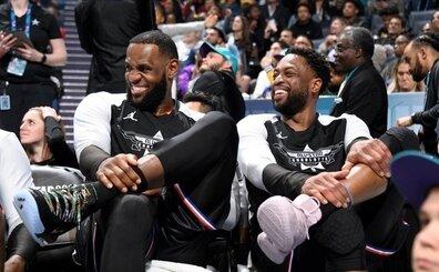 Wade: 'Hepimiz LeBron'un en iyilerden biri olduğunu biliyoruz'