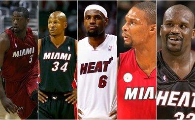 Wade'in favori kadrosunda, yüzük kazandığı takım arkadaşları var!