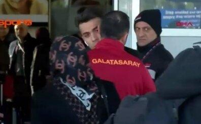 Galatasaray'ın yeni transferi Antalya'ya böyle geldi; VİDEO