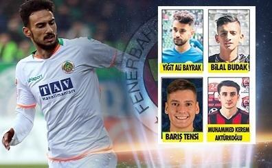 İşte Fenerbahçe'nin radarındaki 5 potansiyelli genç; o kararlar!..