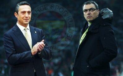 Fenerbahçe'de istifayı getiren konuşma: Ali Koç ve Comolli