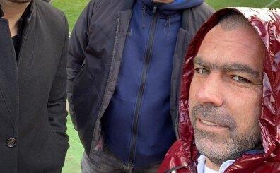 Galatasaray idmanında sürpriz bir isim vardı! İşte fotoğraflar...