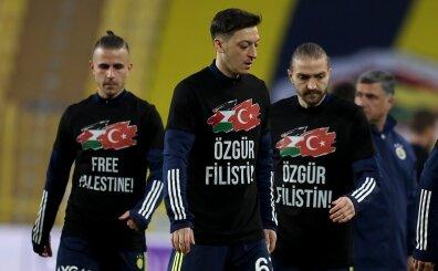 F.Bahçe - Sivasspor maçında Filistin'e destek: 'Özgür Filistin'