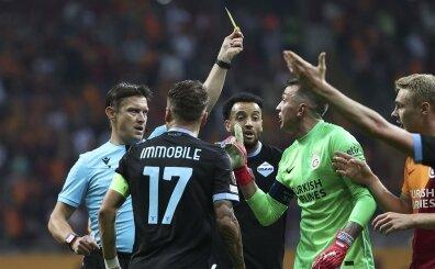 Nando Muslera, yine korkuttu! Lazio'ya karşı o anlar ve kart...