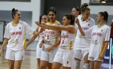 Bellona Kayseri Basketbol, skoru korumayı bildi, galibiyeti aldı!