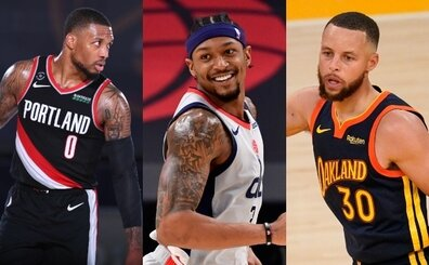 NBA yöneticileri Damian Lillard, Steph Curry ve Bradley Beal'ı izliyor!