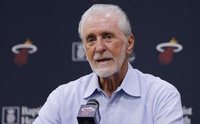 NBA'den, LeBron James'i 'ayartan' Pat Riley için 25 bin $ para cezası!
