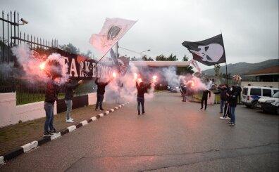 Beşiktaş'a müthiş uğurllama