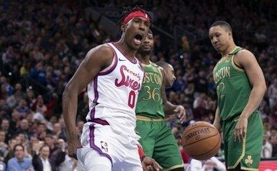 ''76ers - Celtics rekabeti' üzerine olan tartışmaları, Embiid bitirmişti'