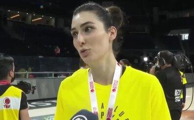 Tuğçe Canıtez: 'Fenerbahçe tarihinde ikinci kez başardık'
