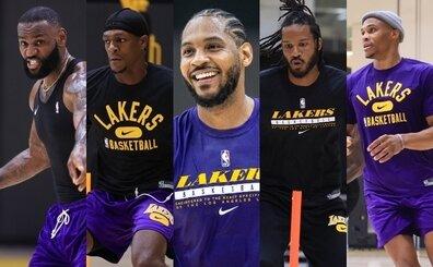 Carmelo, Lakers'ı '900 yaşındaki İtalyan büyükannelere' benzetti!