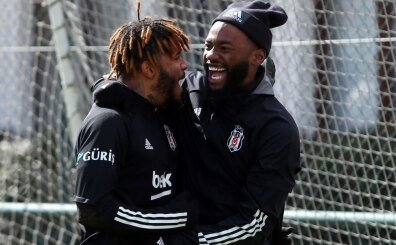 Beşiktaş idmanından mutlaka görmeniz gereken 13 fotoğraf