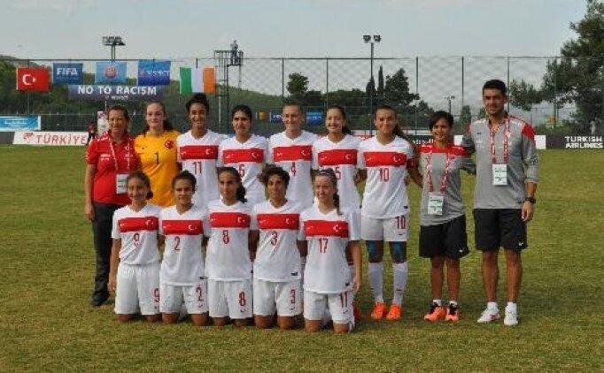 17 yaş altı kız futbol takımımız veda etti