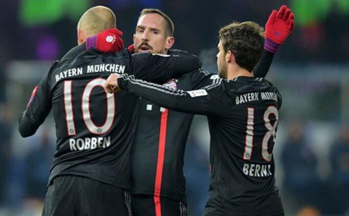 Bayern Munih, şampiyonluk için sahada
