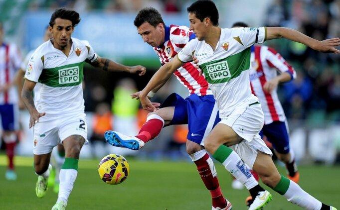 Atletico Madrid, zayıf Elche'yi konuk edecek