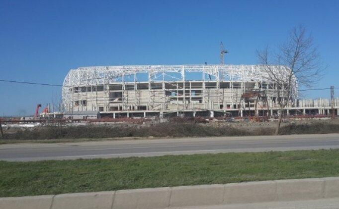 Samsunspor'un stadı yeni sezona hazır