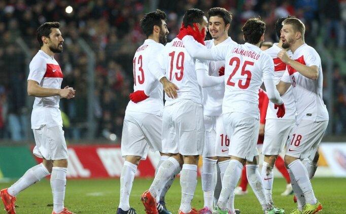 Lüksemburg 1-2 Türkiye
