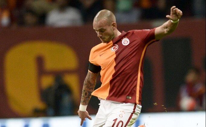Sneijder için flaş iddia! 'İmzalamıyorum'
