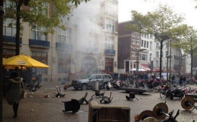 Amsterdam'da olaylar çıktı!