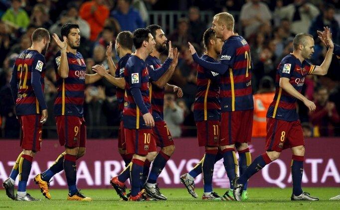 Barça'dan Valencia'ya tarihi fark!