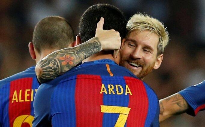Camp Nou'da Arda Turan resitali!