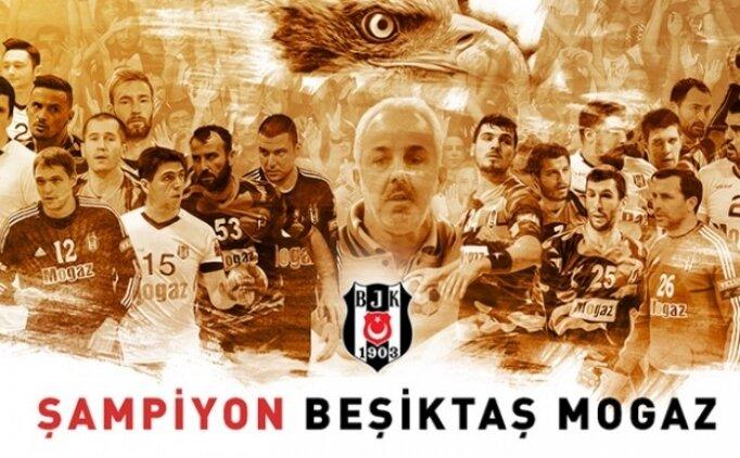 Beşiktaş Mogaz 8. kez art arda şampiyon!