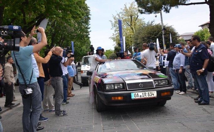 Barış için 300 araçla, 11,5 bin kilometrelik yarış