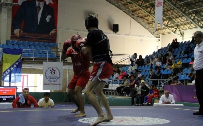 3. Açık Balkan Wushu Şampiyonası başladı