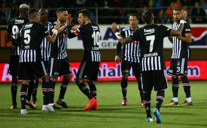 (Alanyaspor Beşiktaş) maçı özeti, Alanya - BJK maçı kaç kaç bitti?