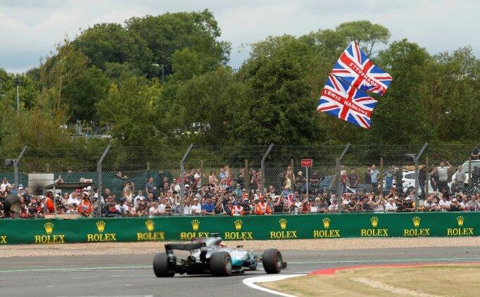 Hamilton'dan üst üste 4. Büyük Britanya zaferi